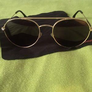 56a8b3a4ed63 Carrera Accessories | Polarized Aviator Sunglasses | Poshmark